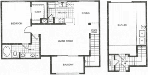 One bedroom apartments in Houston