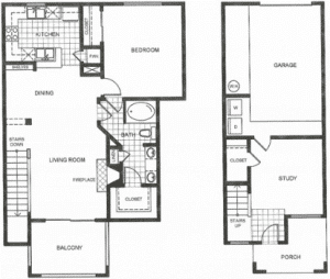 One bedroom apartments in Houston