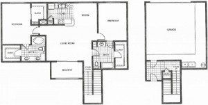 Two bedroom apartments in Houston