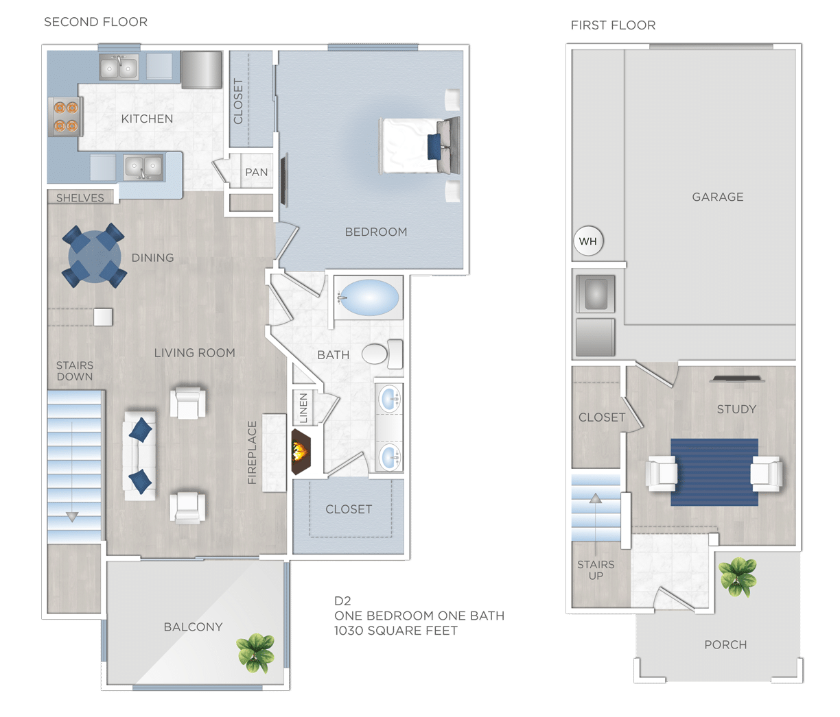 One Bedroom Apartments in Jersey Village, TX